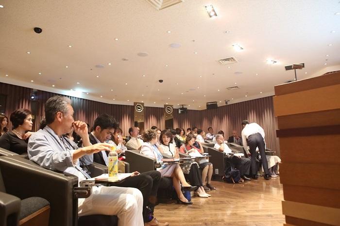 ホテルニューオータニでの講演2