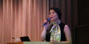 ホテルニューオータニでの講演4