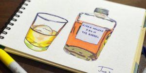 コピックで描いたイラスト