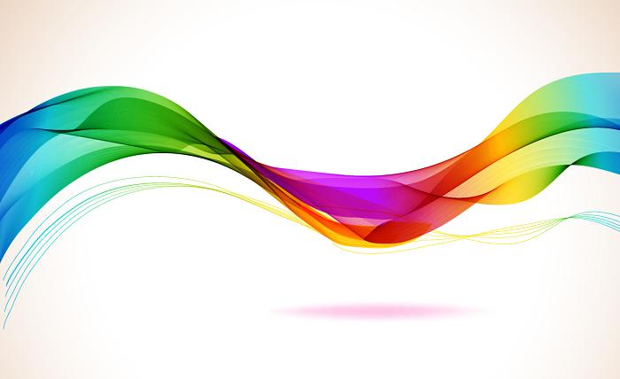虹のイメージ