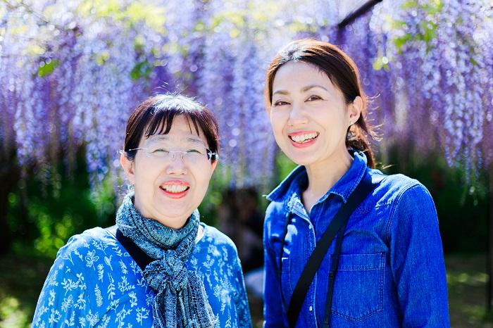 母と娘の仲良しカラー診断